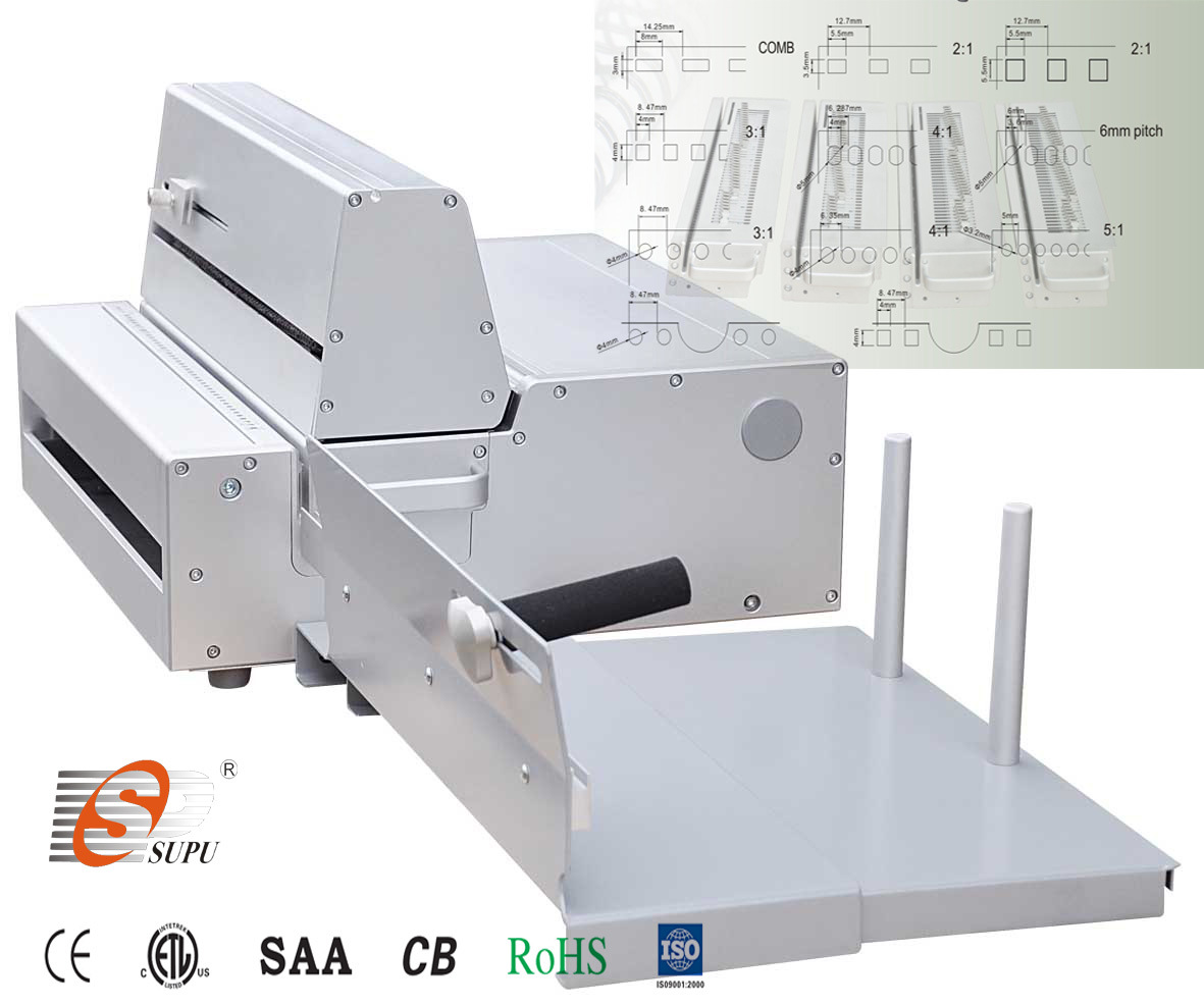 Semi-Automatic Paper Hole Punching Machine (SUPER360E)