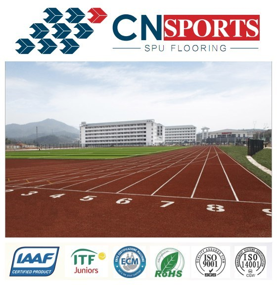 13mm Mixed Type Rubber Running Track/Runway for Gym/School/Park