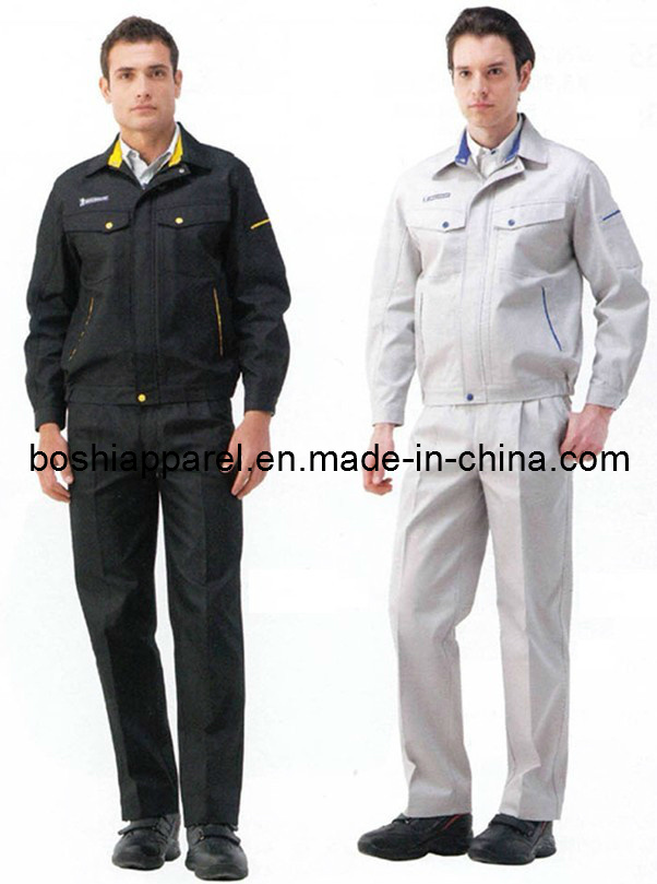 Custom Men′s Work Clothes, Long Sleeve Workwear (LA-05)