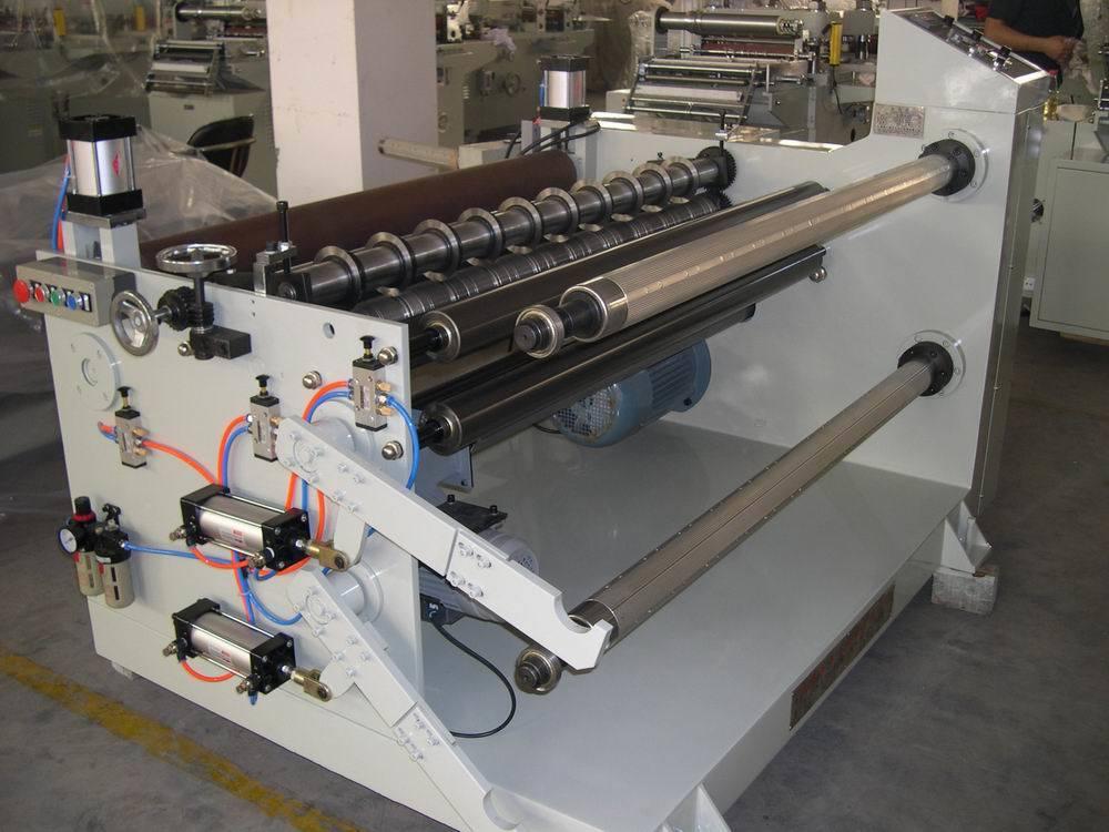 Jumbo Conductive PE Foam Slitting Rewinding Machine