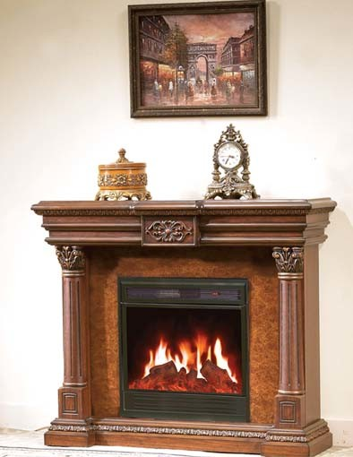Electric Frieplace/Electric Fireplace Mantel (MFG02)