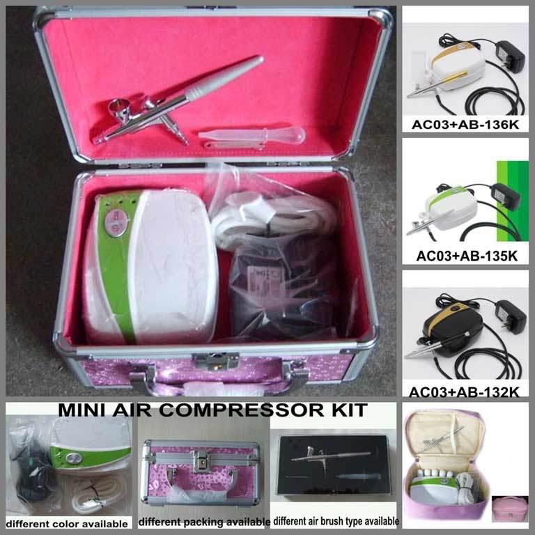 China Airbrush Makeup Kit (AC03K) - China Airbrush, Air Brush