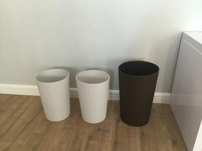 Plastic Trash Can, High Grade, Fashion Garbage Bin, Rubish Bin