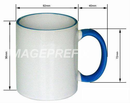 11 oz fringe color mug gq mg 004 images frompo. Black Bedroom Furniture Sets. Home Design Ideas
