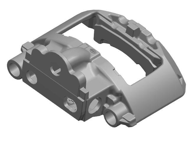 Qualified Auto Caliper (QT600-3) From China