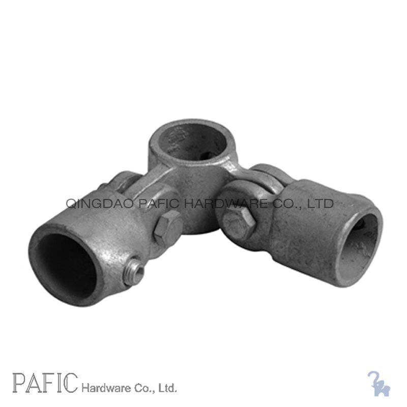 China malleable iron pipe fittings corner swivel