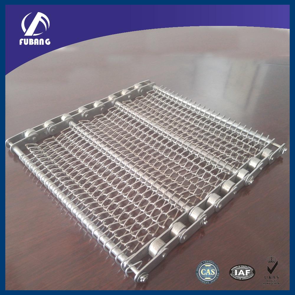 Stainless Steel Wire Mesh Belt / Chain Conveyor Belt