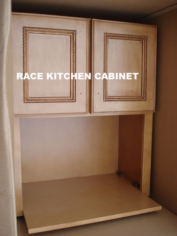 China Wall Microwave Cabinet China Kitchen Cabinet Kitchen Furniture