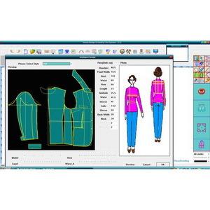 China Superwinda Garment Cad System China Cad Garment Cad: cad system