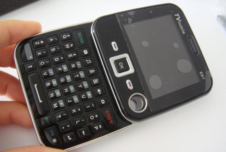 China Qwerty Keypad Mobile Phone With Tv E81 China