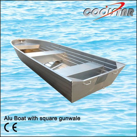 Aluminium Boat with Square Gunwale