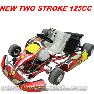 two stroke 125cc racing go