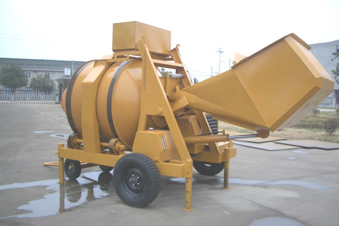 Concrete Mixing Bag : Bags cement china diesel concrete mixer with self