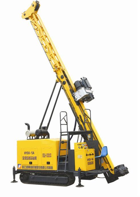 Full Hydraulic Diamond Exploration Core Drilling Rig (HYDX-5A)