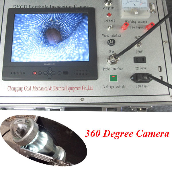 New Selling Water Well Inspection Camera and Borehole Camera and Borehole Inspection Camera, Deep Water Well Camera