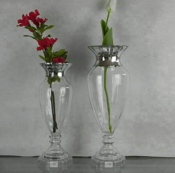 China home decor glass vase china glass vase vase for Glass home decor