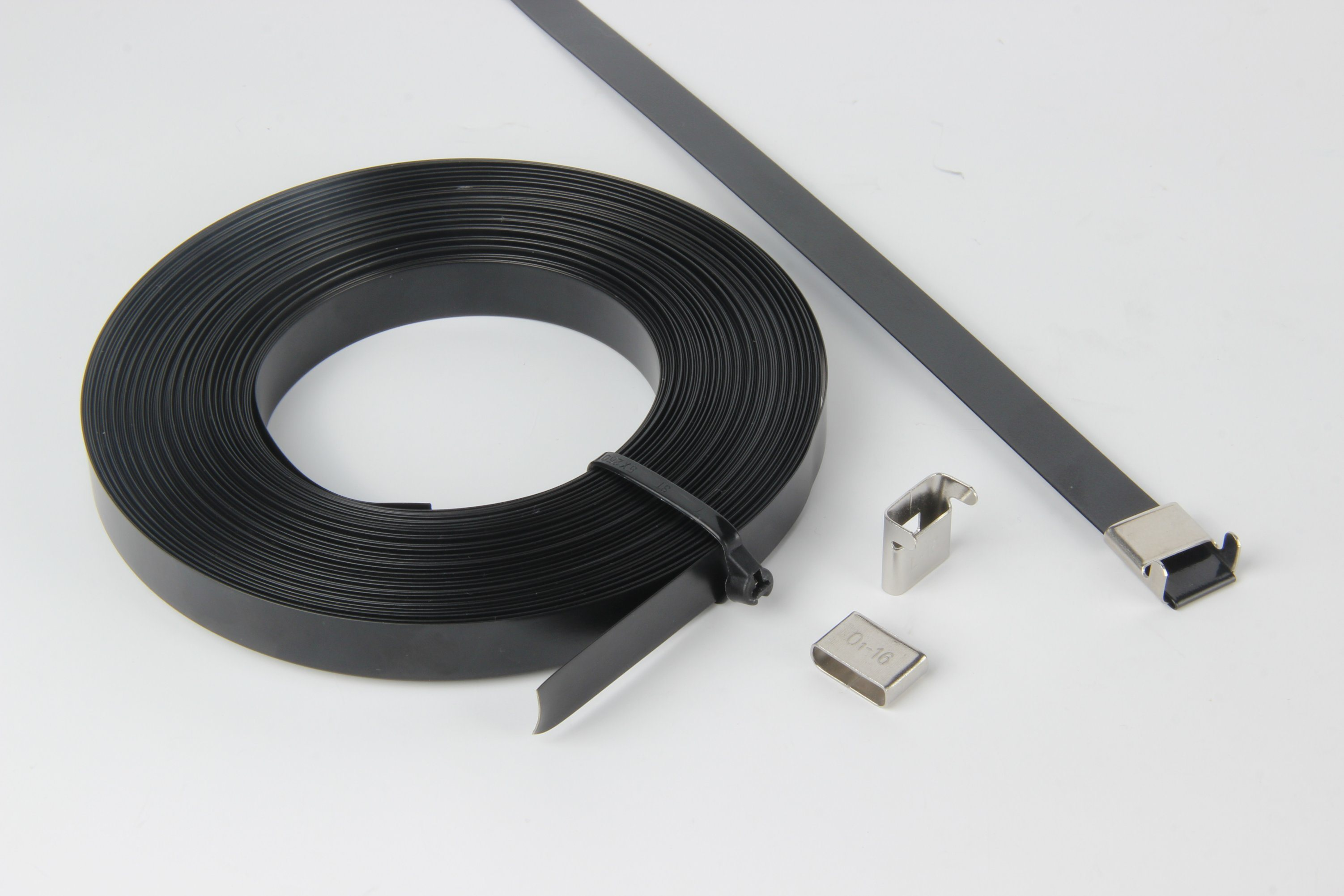 PVC Coated Stainless Steel Strapping Band