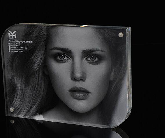 "4X6"" Acrylic Magnetic Glass Photo Frame"