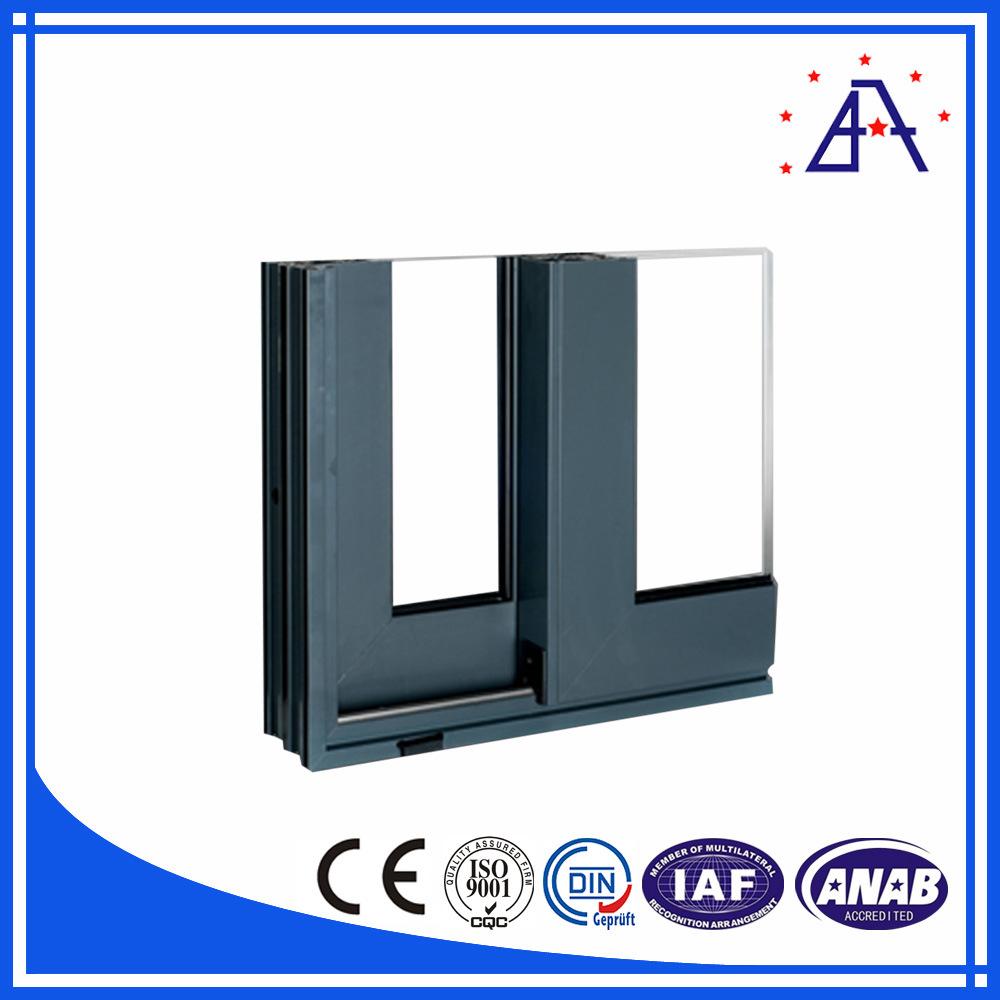 Construction Windows and Doors Aluminium Extrusion Profile