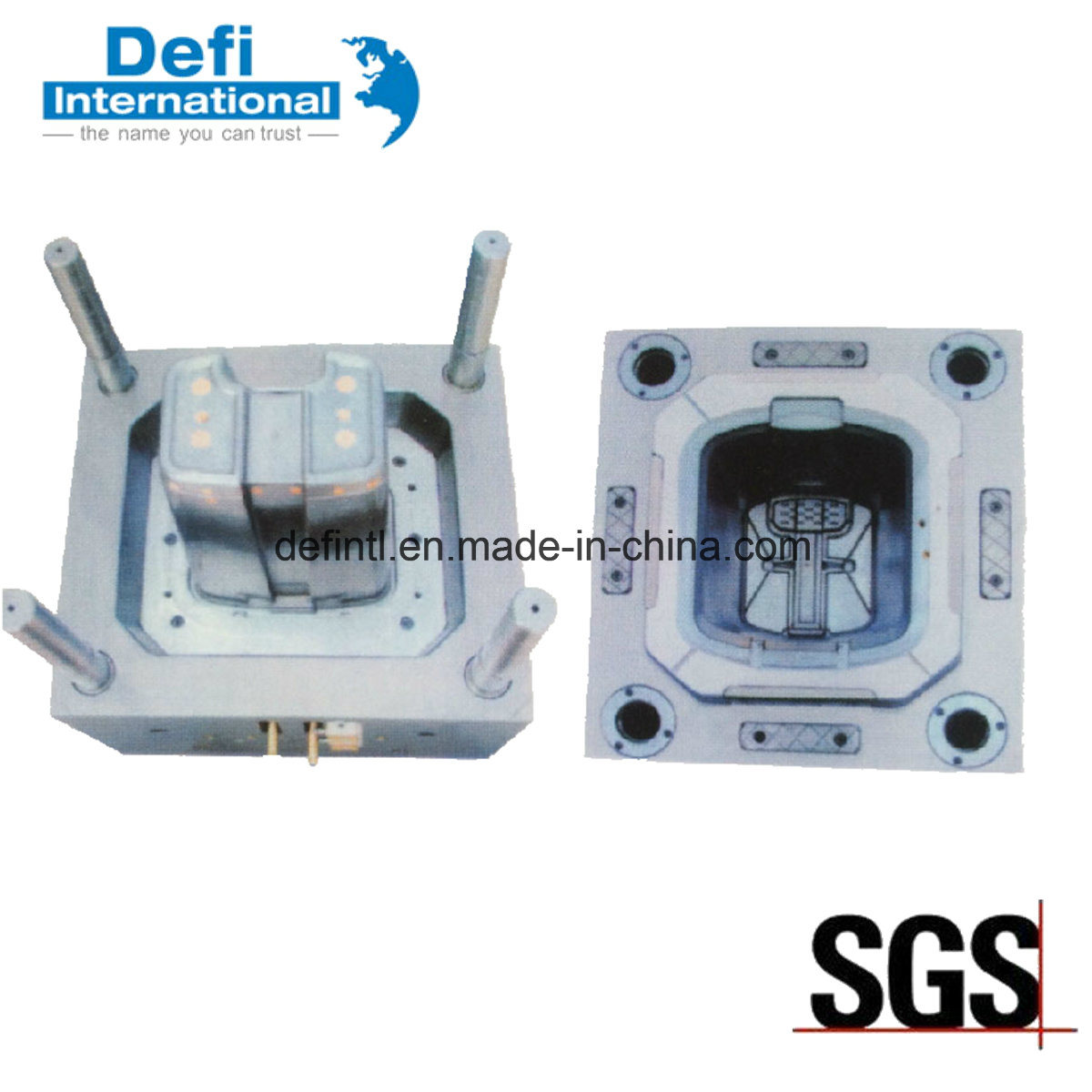 Professional Custom Plastic Injection Mould for Plastic Extrusion
