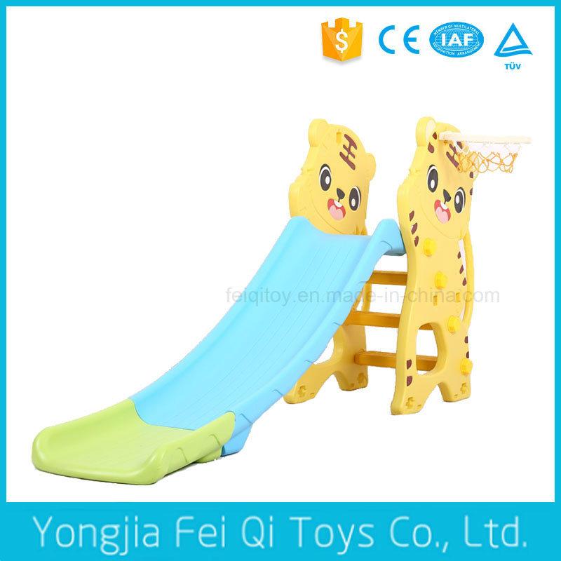 Indoor Playground Kid Toy Tiger Plastic Children Slide for Kids