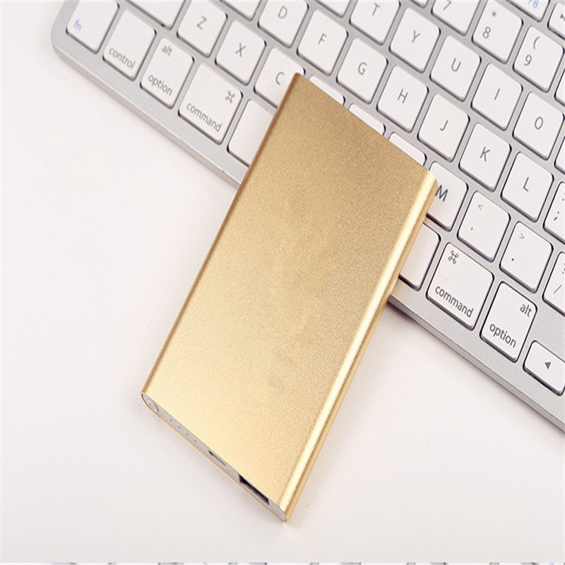 5000mAh Super Slim for Xiaomi Portable Power Bank Mobile Phone Charger