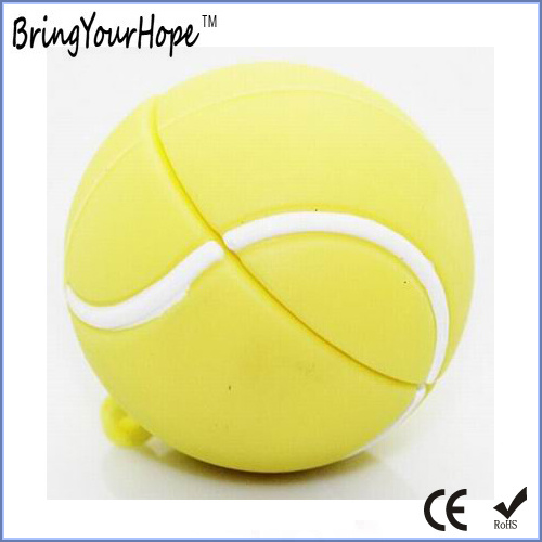 Tennis Ball PVC USB Flash Disk (XH-USB-158)