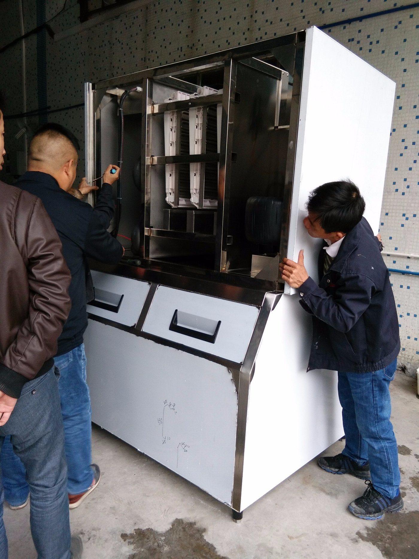 Big Capacity Large 1 Ton 1000kg Ice Cube Machine