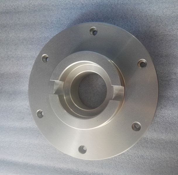 CNC Machining Aluminum Machine Parts with Sand Blasting