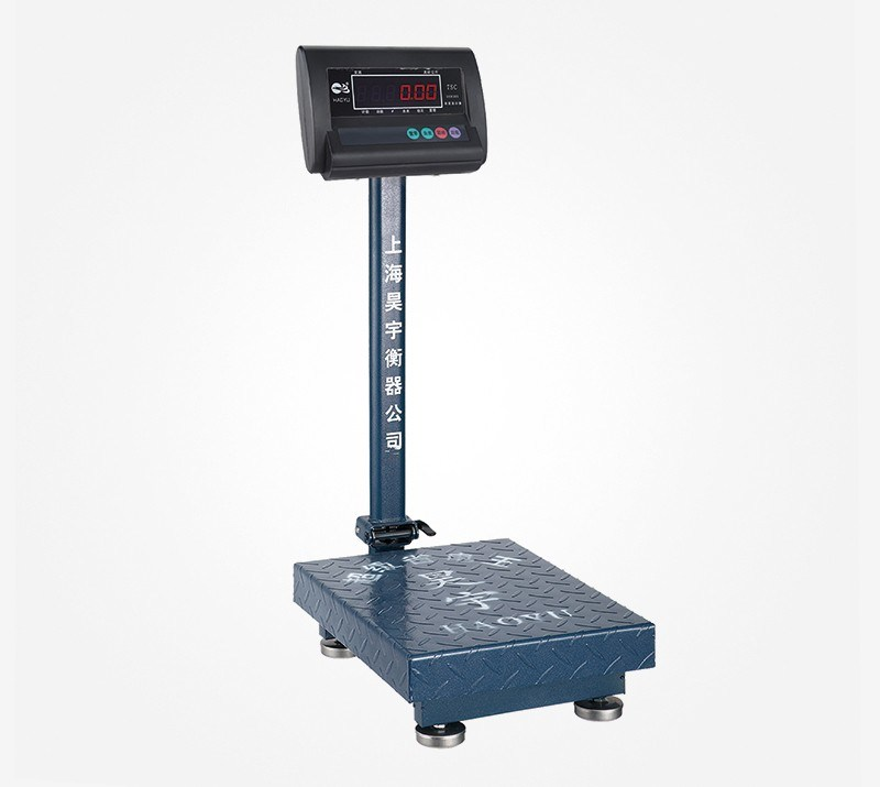 T4z Weighing Indicator Carbon Steel Frame Platform Scale