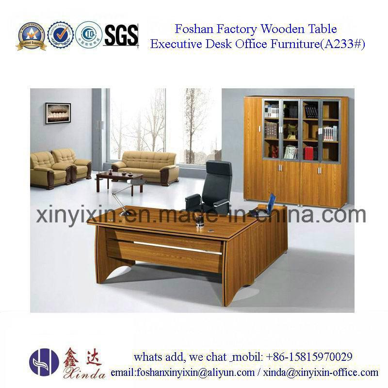 European Design Office Desk Wooden Furniture (M2602#)