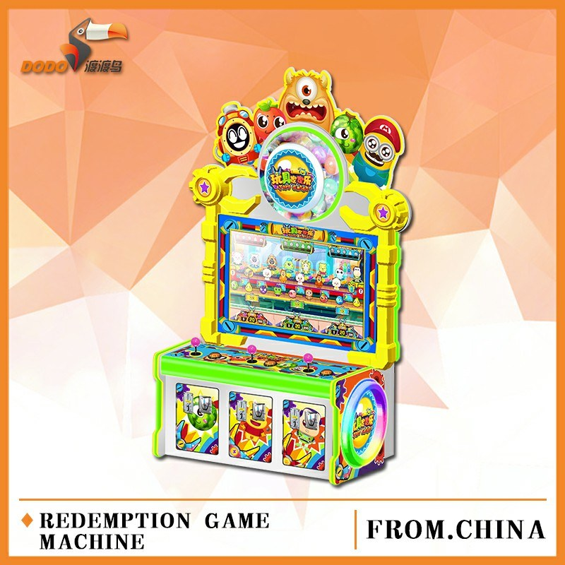3 Players Toys Catching Children Amusement Lottery Game Machine for Playground and Arcade Video Game Center