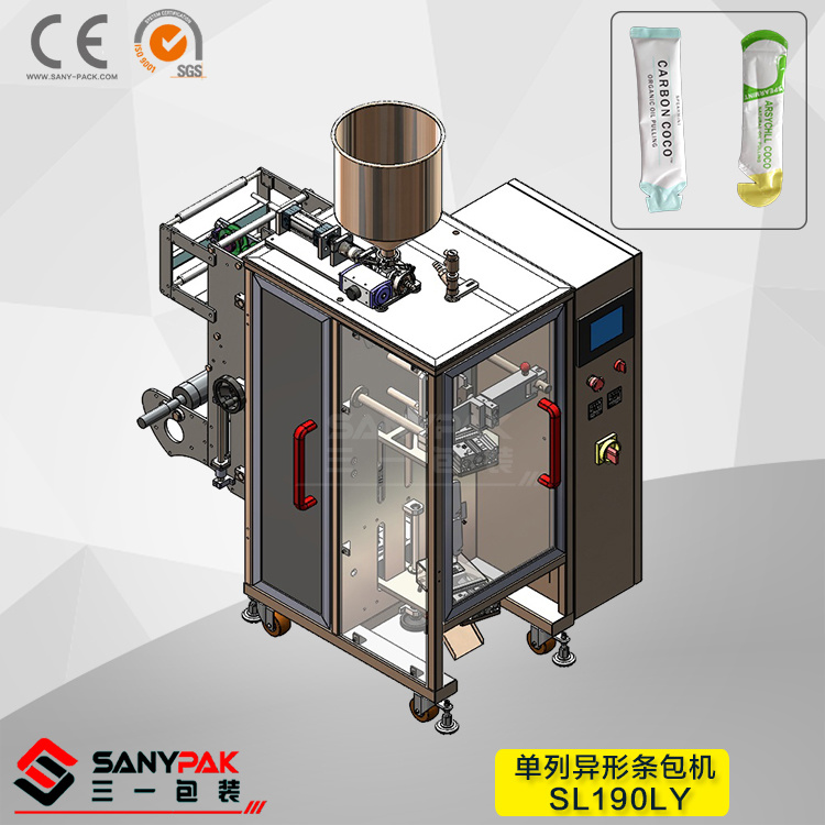 Vinegar/Juice/Sauce/Cream/Oil Liquid Shape Sachet Vertical Packaging Machine