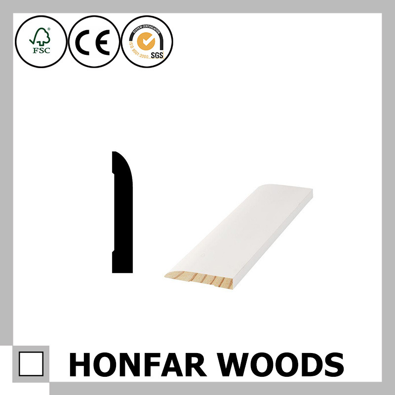 29/64 in. X 3-1/4 in. Oak Veneer Wood Skirting Moulding