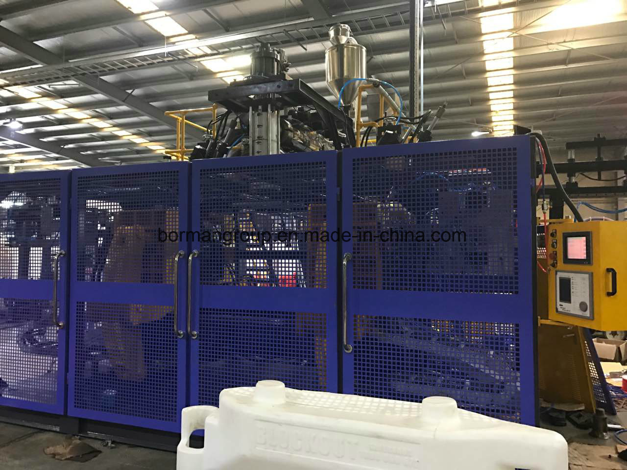 Twin Station Blow Molding Machine