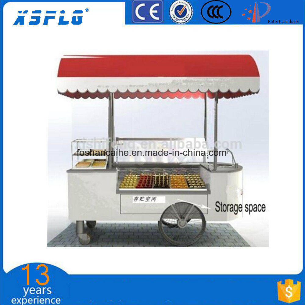Popsicle Freezer Cart/Ice Cream Stick Display