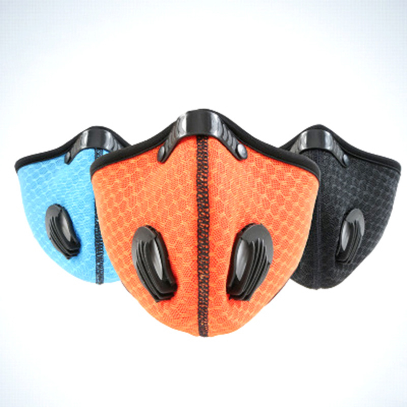 Anti-Dust Activated Carbon Health Protector Half Face Mask for Cycling