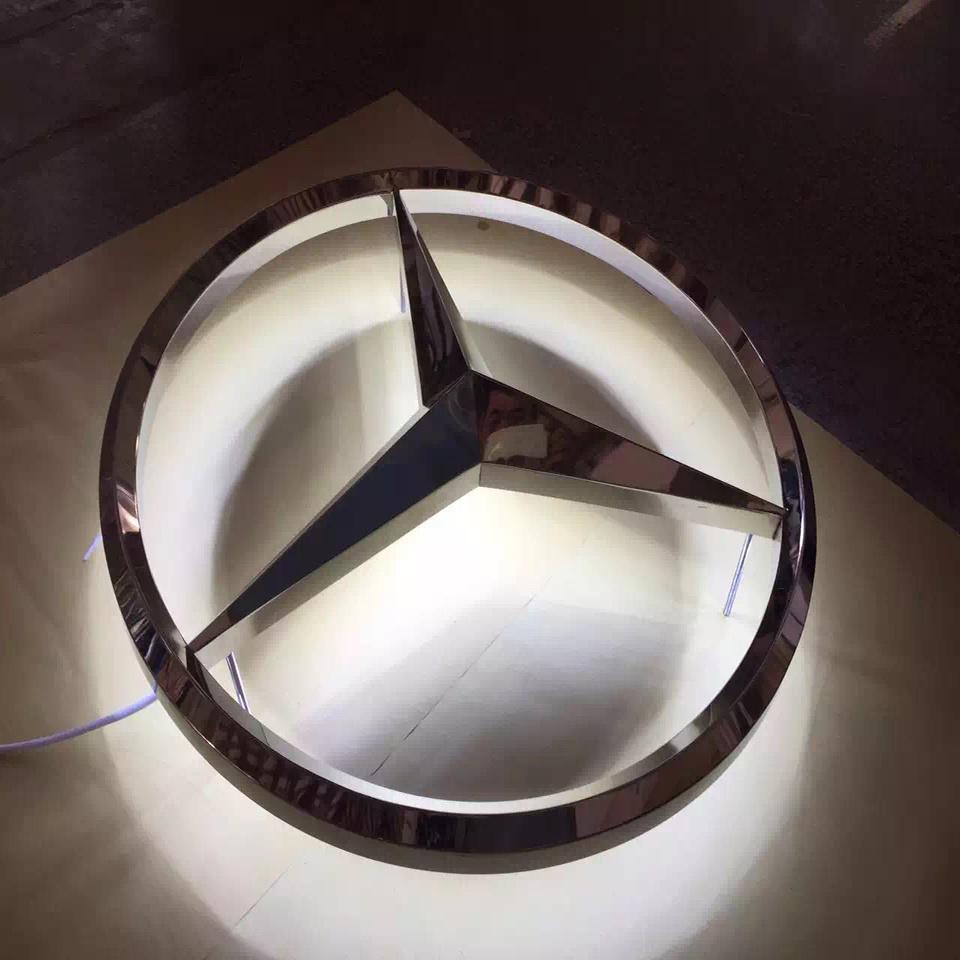 3D Car Logo Illuminated LED Car Logo