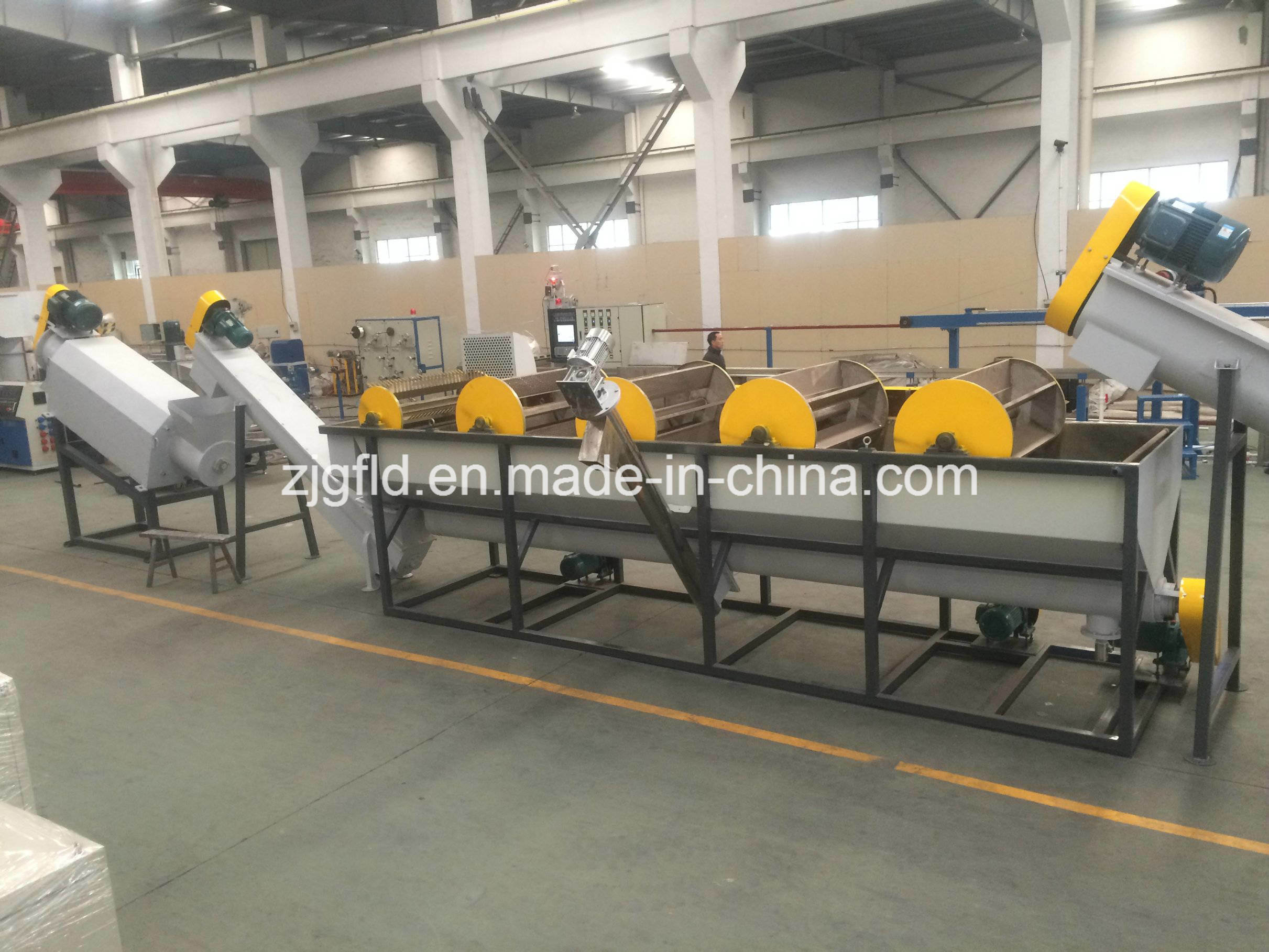 PP PE Plastic Film Washing and Recycling Machine