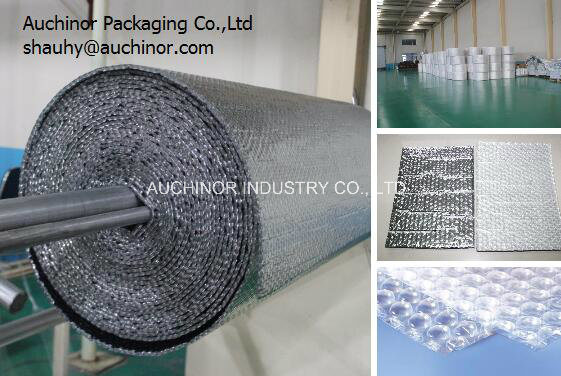 Thermal Isolation Aluminum Foam Material / Reflective Insulation Aluminum Foil Foam