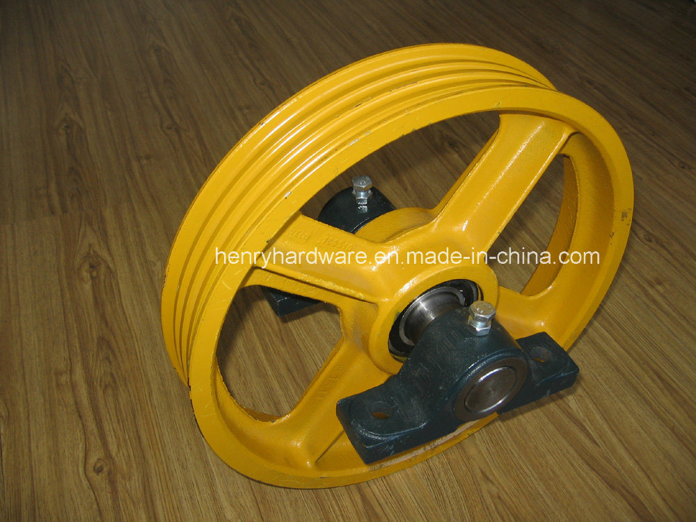 Various Lift Sheave Pulleys, Elevator Sheave Pulleys, Elevator Pulleys, Lift Pulleys & Deflector Pulleys