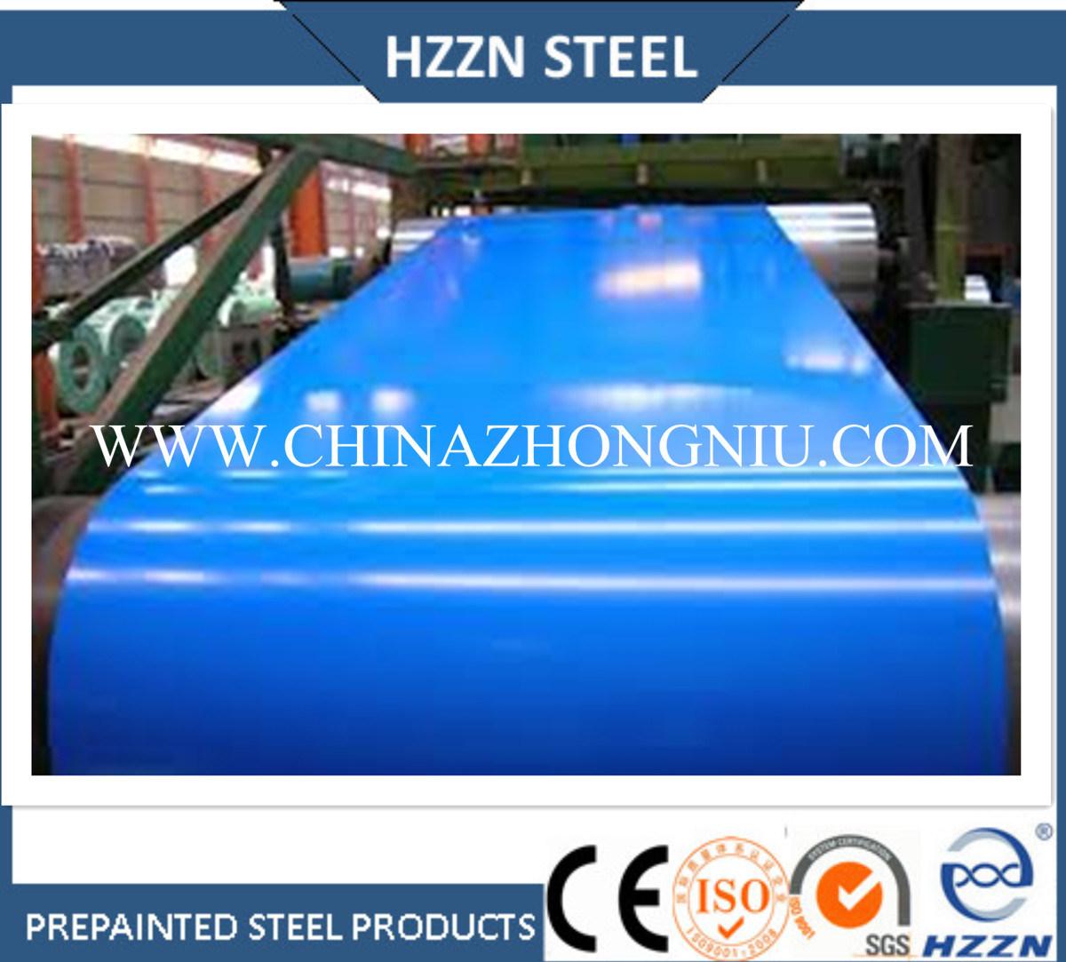 Prepainted Steel Coil (RAL3009, 6024, 2004, 9010, 8017, etc. )