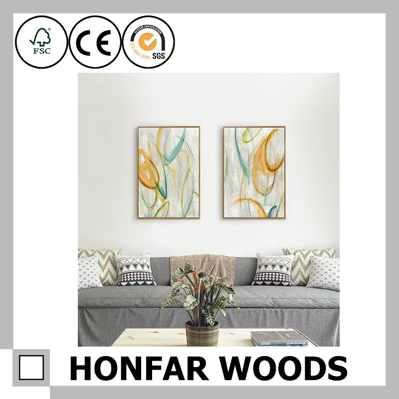 Impressionist Wall Art Painting for Home Decor