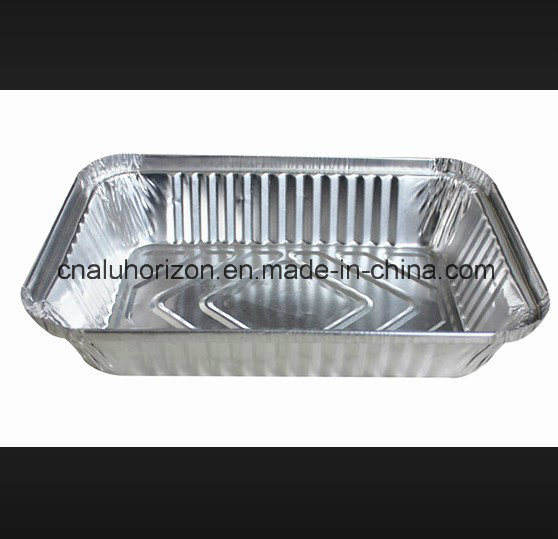 Oil Free Aluminum Foil Tray for Roasting Chicken