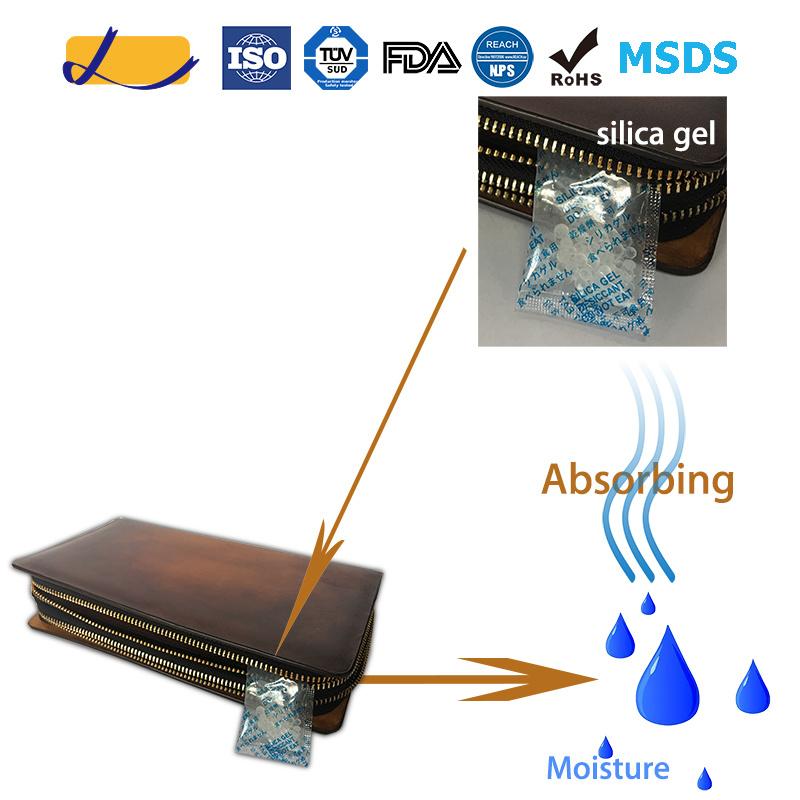 Moisture Control Silica Gel Desiccant for Handbag