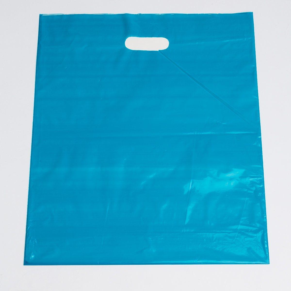 Die Cut Handle Merchandise Bags Print Plastic Shopping Bags