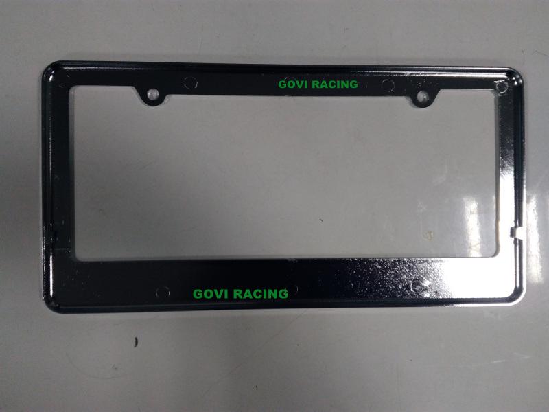 Car License Plate Frame License Holder with ABS 312*160mm License Plate Frame Bolts Holder Car Number Plate Frame Car Styling
