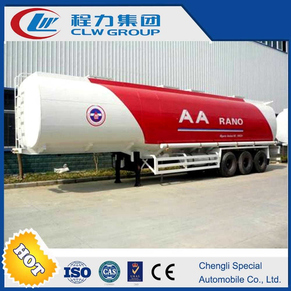 Clw 43000 Liters Cheap Fuel Diesel Tank Truck Semi Trailer