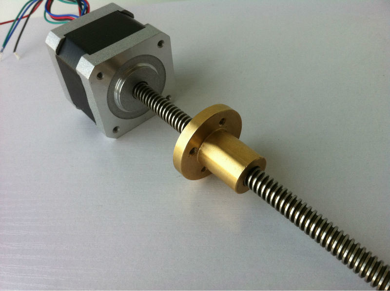 Threaded Rod NEMA 17 Linear Stepper Motor