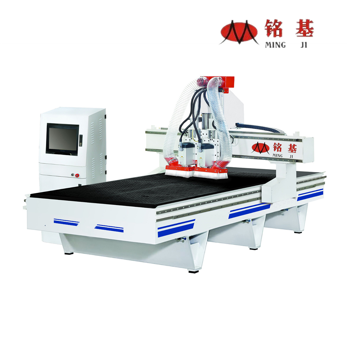 Woodworking Double Heads CNC Router Machine for Furniture